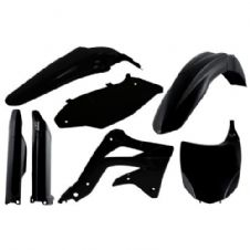 Full Acerbis Plastic Kit KXF 450 2012 Black Motocross Front Plate Fork Guards